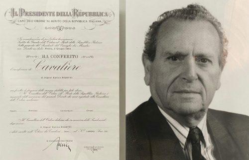 Cavalierato Enrico Rigotti